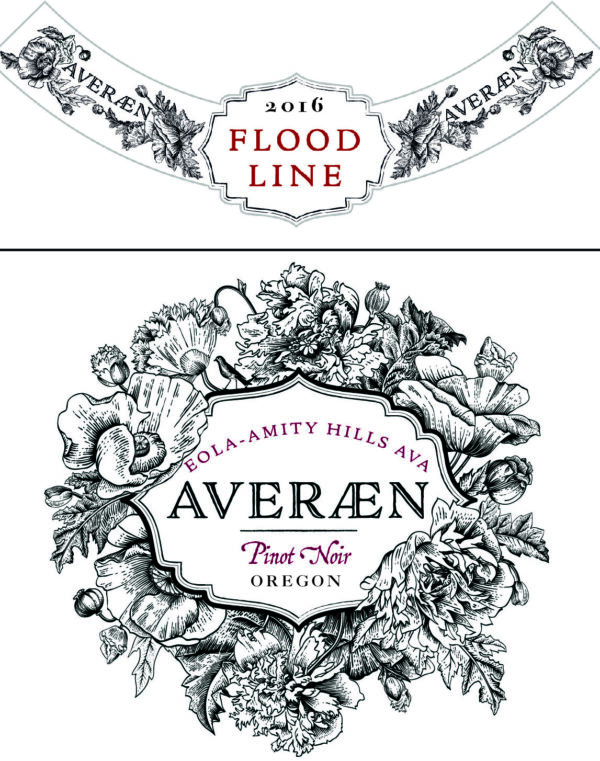 AVERAEN Oregon Pinot Noir Flood Line