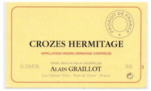 Alain Graillot Crozes Hermitage Blanc