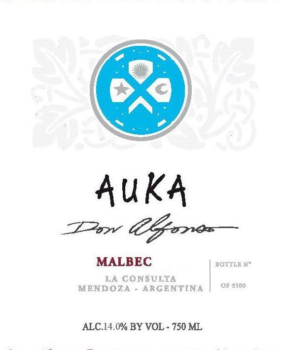 Auka Malbec Don Alfonso San Polo Bodega and Vinedos