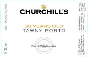Churchills 30 Years Old Tawny Port 500ML