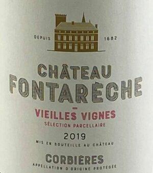 Chateau Fontareche Corbieres Vieilles Vignes 2019