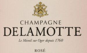 Champagne Delamotte Brut Rose Le Mesnil-Sur-Oger NV