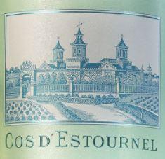 Chateau Cos D Estournel BLANC Bordeaux 2015