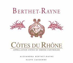 Andre Berthet Rayne Cotes du Rhone Rouge 2019