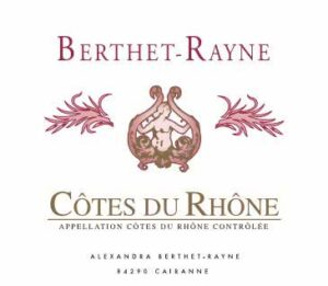 Andre Berthet Rayne Cotes du Rhone BLANC 2019