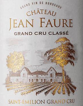 Chateau Jean Faure Saint Emilion Grand Cru 2015