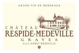 Chateau Respide-Medeville Graves BLANC 2016