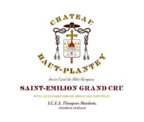 Chateau Haut Plantey Saint-Emilion Grand Cru Bordeaux Red 2011