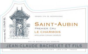 Jean-Claude Bachelet Saint-Aubin 1er Cru 2015