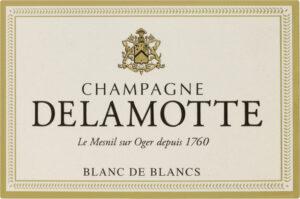 Champagne Delamotte Blanc de Blancs Le Mesnil-Sur-Oger 375ML NV