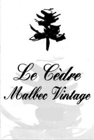 Chateau du Cedre Le Cedre Sweet Malbec Vintage Cahors 500ML 2015