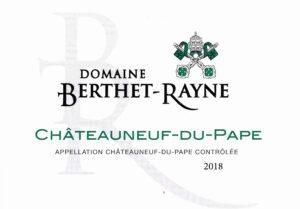 Domaine Berthet-Rayne Chateauneuf du Pape Blanc 2019
