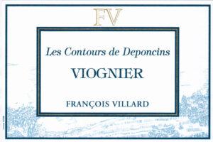 Domaine Francois Villard Viognier Les Contours de Deponcins VDP 2019