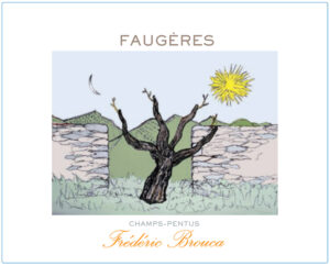 Domaine Frederic Brouca Champs Pentus Faugeres Red 2018