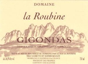 Domaine La Roubine Gigondas 2018