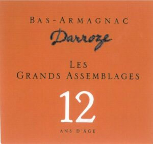 Francis Darroze Armagnac Les Grands Assemblages 12 year old