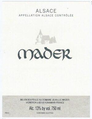 Jean Luc Mader Pinot Blanc 2019