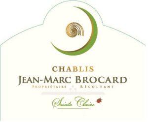 Jean-Marc Brocard Chablis Domaine Saint-Claire 2019