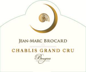 Jean-Marc Brocard Chablis Grand Cru Bougros 2015