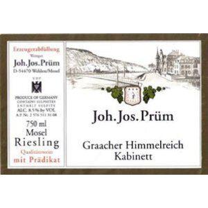 Joh. Jos. Prum Graacher Himmelreich Riesling Kabinett JJ1-16