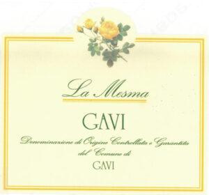 La Mesma Gavi Gialla docg Bianco 2018