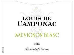 Louis de Camponac Sauvignon Blanc 2018
