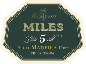 Miles Madeira 5 Years Dry NV