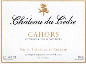 Chateau du Cedre Cahors 2016