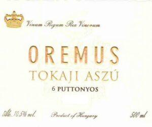 Oremus Tokaji Aszu 6 Puttonyos White 500ML 2005