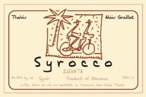Syrocco Zenata Syrah 2018