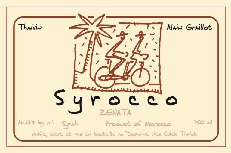 Syrocco, Zenata, SyrahLABEL