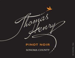 Thomas Henry Sonoma County Pinot Noir 2019