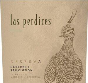 Vina Las Perdices Cabernet Sauvignon RESERVA 2016