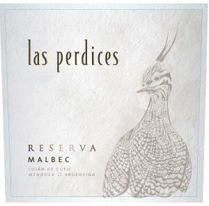 Vina las Perdices Malbec RESERVA 2016