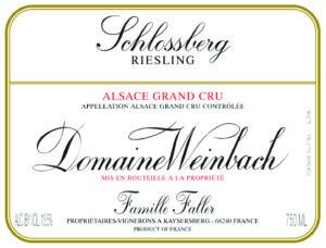 Weinbach Riesling Grand Cru Schlossberg 2019