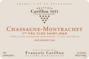 Carillon Chassagne Montrachet 1er Clos Saint Jean