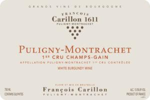 Carillon Puligny Montrachet 1er Cru Champ Gain 2019
