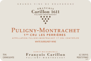 Carillon Puligny Montrachet1er Cru Les Perrieres 2018