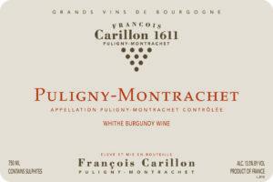 Carillon Puligny Montrachet 2017