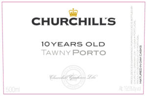 Churchills 10 Years Old Tawny Port 500ML
