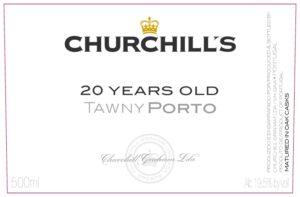 Churchills  20 Years Old Tawny Port 500ML