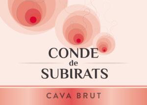 Conde de Subirats Cava Rose Sparkling Wine NV