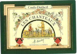 Couly Dutheil Chinon Blanc Les Chanteaux 2018