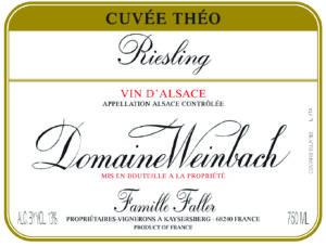 Weinbach Riesling Cuvee Theo 17