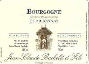 Jean-Claude Bachelet Bourgogne Blanc 2018