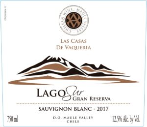 Las Casas De Vaqueria Lago Sur Gran Reserva Sauvignon Blanc 2019