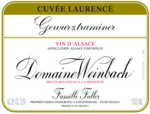 Weinbach Gewurztraminer Cuvee Laurence 2018