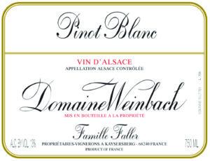 Weinbach Pinot Blanc Reserve 2018