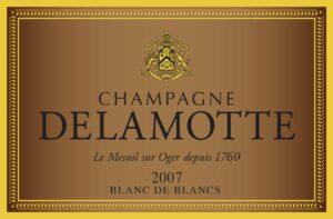 Champagne Delamotte Blanc de Blancs Le Mesnil-Sur-Oger 2007