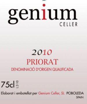 Genium Celler GENIUM Priorat Red 2010